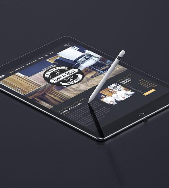 Inauguración web Barbería Tony & Dany