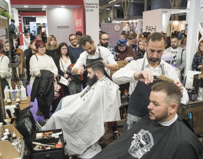 Barbería Tony & Dany en el Salón Cosmo Beauty 2018 de Barcelona
